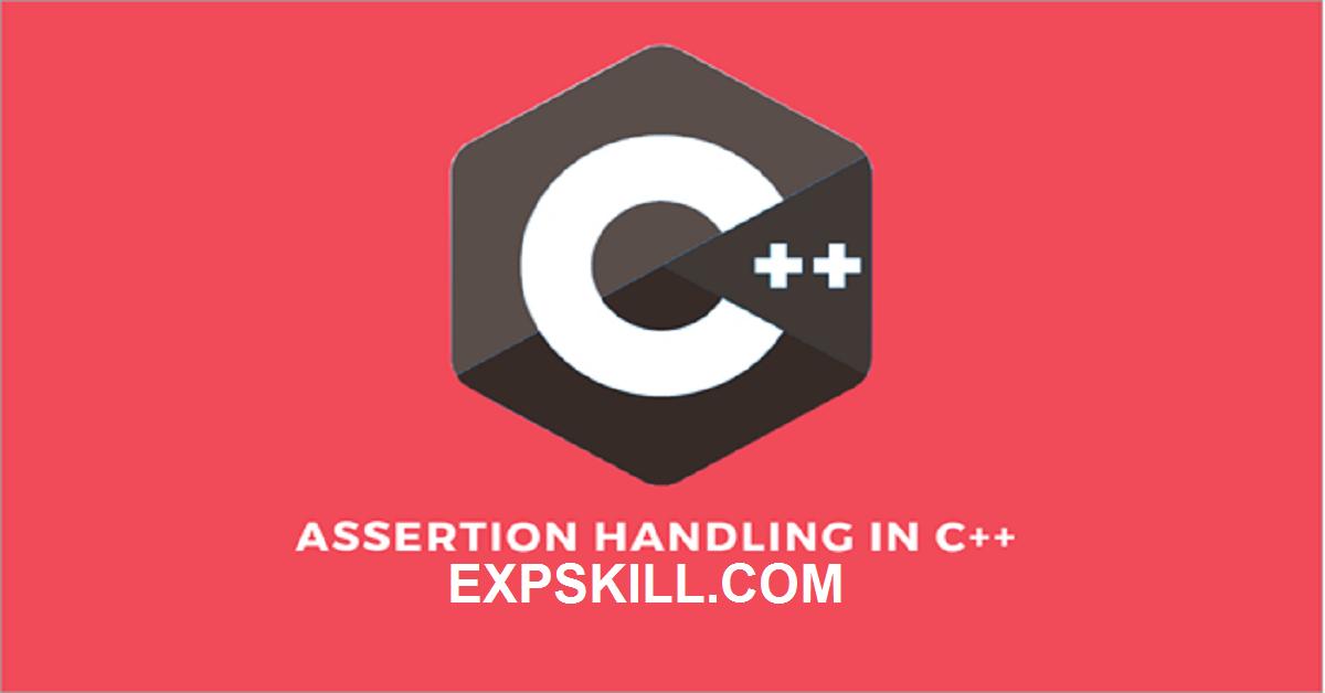 assertion in C/C++