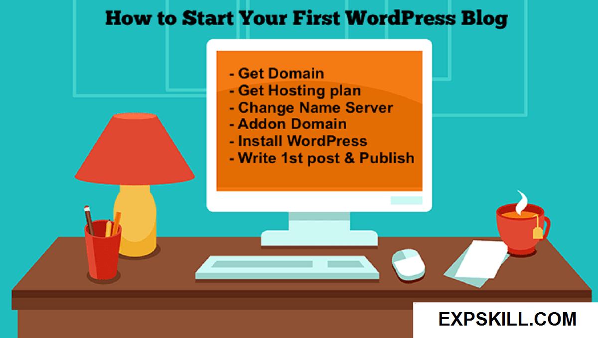 First Wordpress Blog