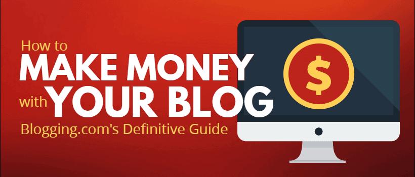 Make Money your Blog