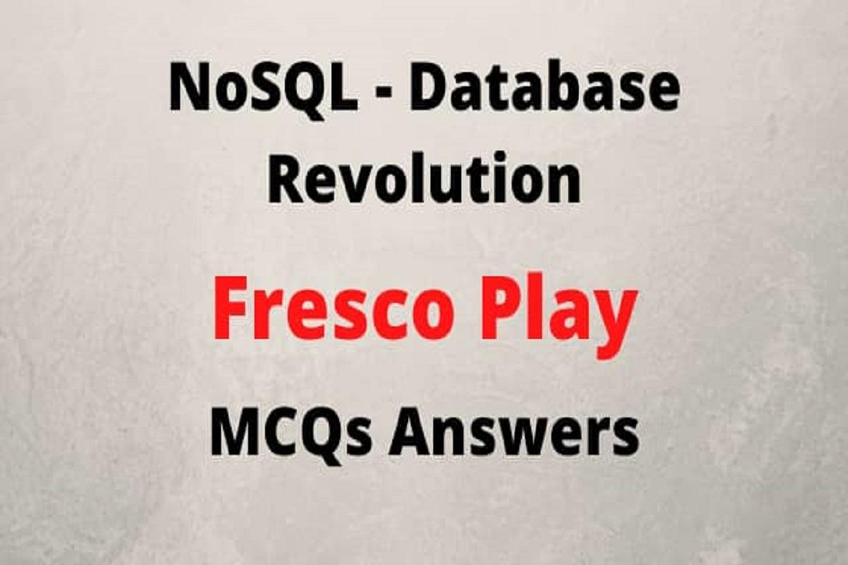 NOSQL database revolution