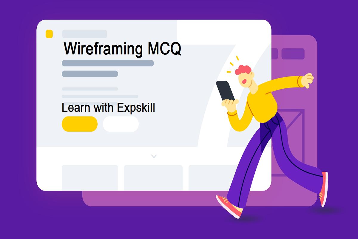 wireframing mcq